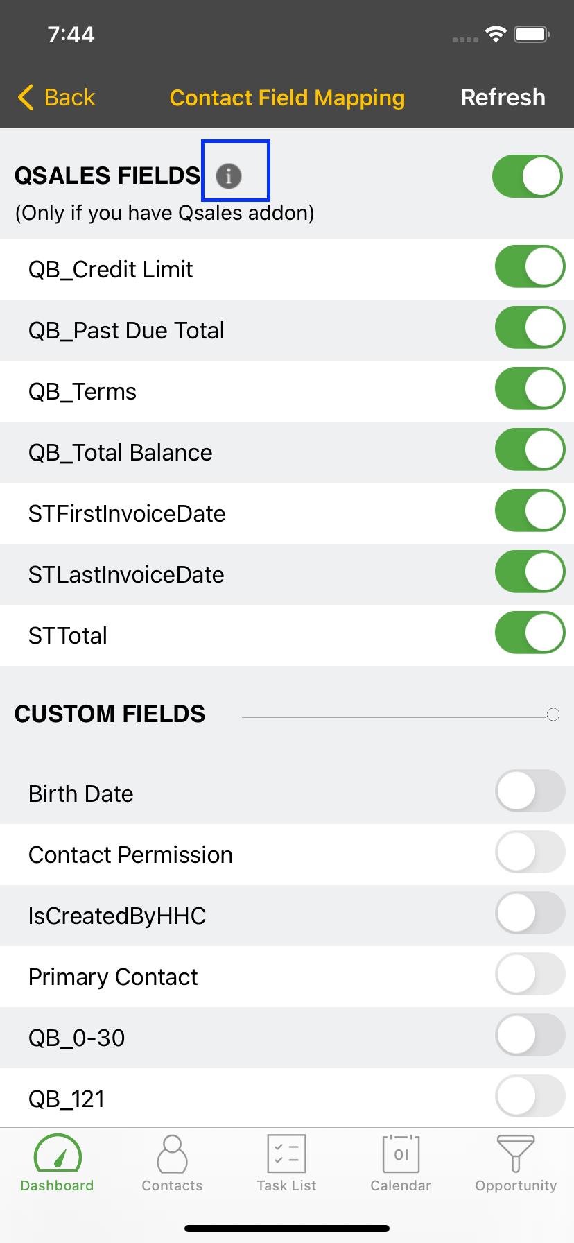 Simulator Screen Shot iPhone 11 2021 06 01 at 07.44.50